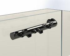 Aquarium Spray Bar Nozzle. BLACK. Compatible with Fluval Flex