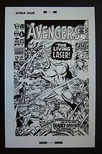 Original Production Art THE AVENGERS #34 cover, DON HECK art