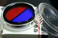 COZO      OPICAL   FILTER    HIGH quality    49  mm     BI COLOR  RED- BLUE