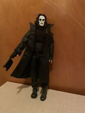 """THE CROW Eric Draven Collectible 12"""" Figure with Sound 2002 Reel Toys NECA"""