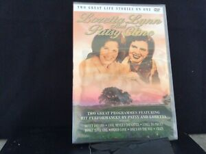 Loretta Lynn And Patsy Cline - Two Great Life Stories On One DVD (2001) NEW
