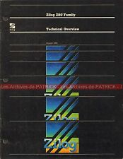 ZILOG Data Book Z80 Familly / Fascicule Technique Microprocesseur Z 80 .... 1980