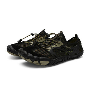 Men's Outdoor Water Shoes Non-slip Breathable Hiking Walk Beach Sneakers Shoes D