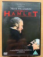 Hamlet DVD 1969 William Shakespeare Film Classique Largeur/Nicol Williamson