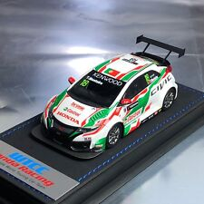 1/43 Mark Honda Civic Type R FK2 WTCC Castrol Touring Car JAS Tiago Monteiro #18