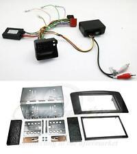Mercedes Ml W164 05-11 directivo y de fibra óptica Adaptador Y Doble DIN Facia Kit