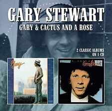 Gary Stewart - Gary / Cactus & A Rose [New CD] UK - Import