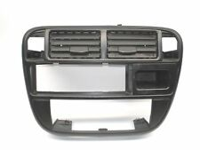 96-98 Honda Civic EK Radio A/C Bezel Air Vent Dash Trim OEM
