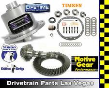 GM 8.875 Chevy 12 Bolt Car 3.73 Ring Pinion Yukon Duragrip Posi Pkg Timken Kit