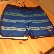 Mens Hollister Swim Shorts, size 34, Blue