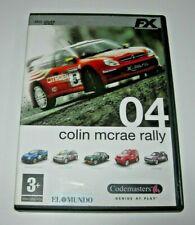Colin McRae Rally 04 PC (Edición española muy buen estado)