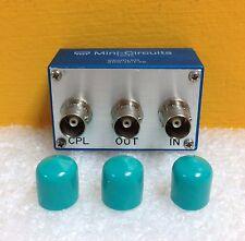 Mini-Circuits ZDC-10-1-75 1 to 250 MHz, 30 dB dir., 75Ω, BNC Directional Coupler