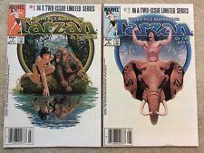 Tarzan #1 & 2 *Complete 1984 Mini-Series*