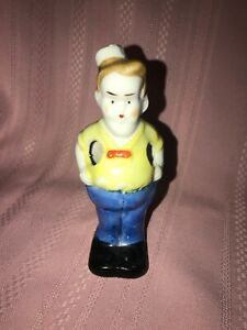 UNCLE WALT GLAZED BISQUE TOOTHBRUSH HOLDER 1930s Comic Character