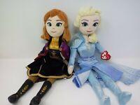 "Ty Sparkle Frozen 2 : Elsa & Anna Plush Doll, 15.5"""