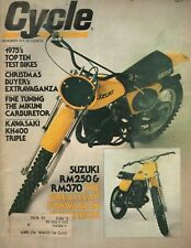 1975 December Cycle - Vintage Motorcycle Magazine