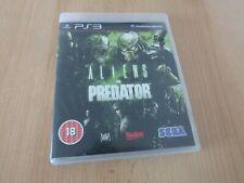 Aliens vs Predator PS3  mint collectors pal