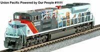 """KATO 1768412 N SD70ACe Union Pacific """"Powered By Our People"""" #1111 176-8412"""