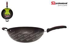 Sq professional 34 cm large Wok/Chinese wok/ non stick Wok