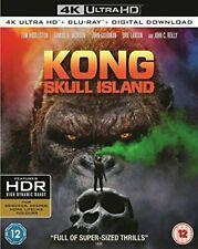 Kong Skull Island 4k Ultra HD Blu-ray Digital Copy 2017