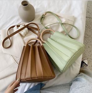 2019 Summer Ladies New Fashion Pleated bucket Bag Handbag Shoulder Bag Star New