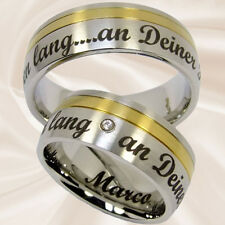 Eheringe Hochzeitsringe Partnerringe Paarringe Verlobungsringe 8 mm mit Gravur