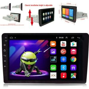 8'' Android 9.1  1DIN Car Stereo MP5 Multimedia Player Radio GPS Navigation FM
