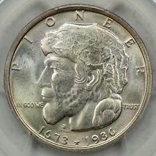 New listing 1936 Silver Elgin Commemorative Half Dollar, Pcgs Ms66