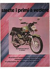Pubblicità 1972 MOTO MOTOR MOTOBECANE125 LT old advert reklame publicitè werbung