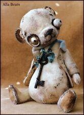 READY to SHIP Alla Bears artist man cave art toy office decor scary SteamPunk