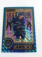 2014-15 OPC Platinum Alexandre Burrows /65 Blue Cubes Insert Vancouver Canucks