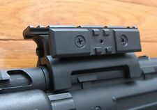 MP5 High Profile Scope Mount Base w/20 mm RIS Weaver Rail, One Nut Quick Release