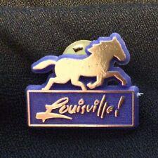 Twenty Louisville Gold Horse Lapel Pin Lot