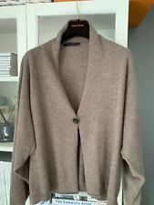 FABIANA FILIPPI 100% cashmere boxy cardigan sz Uk12 IT44 Oversized