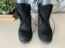 Timberland primaloft 400g Uk 9.5 leather 6 inch boots black