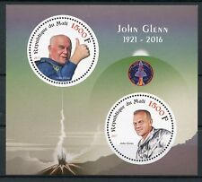 Mali 2017 MNH John Glenn Memorial 2v M/S Space Stamps