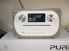 PURE C-D4 Grey Oak DAB CD Radio  FREE UK DELIVERY