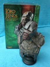 Sideshow Weta SIGNORE DEGLI ANELLI Uruk-squalo Scout BUSTO BUST Lord of the Rings LOTR