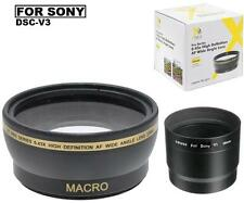 58mm Digital Wide Angle Lens for Sony Cyber-shot DSC-V3