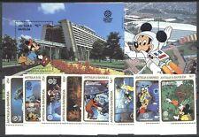 Walt Disney, EPCOT, Space - Antigua u.Barbuda - ** MNH 1988