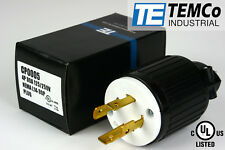 TEMCo NEMA L14-30 Male Plug 30A 125/250V Locking UL Listed for Generator