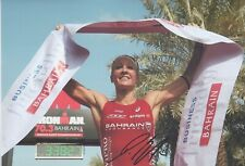 DANIELA RYF IRONMAN Foto 20x30 signiert IN PERSON Autogramm signed