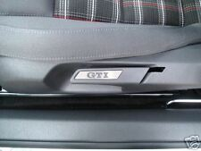 VW GOLF MK5 MK6  GTI  STAINLESS STEEL TRIM SEAT INSERTS PAIR