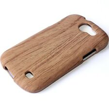 For Samsung Galaxy Express i437 -HARD FITTED SKIN CASE COVER BROWN WOOD OAK TREE