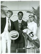 JOHN SCHNEIDER TERI COPLEY GREYHOUND GUS BROWN MIDNIGHT BREWSTER 86 NBC TV PHOTO