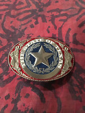 TEXAS STATE SEAL BELT BUCKLE NEW