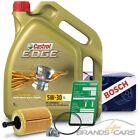 BOSCH ÖLFILTER+5L CASTROL EDGE FLUID 5W-30 LL VW PASSAT 3C 1.9 2.0 TDI 3.2 3.6