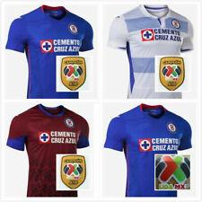 New 2020-21 Cruz Azul Home/Away Soccer Jersey Shirt S-Xxl. And The Liga Mx Patch