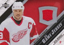 05-06 Upper Deck Game-Worn JERSEY Steve YZERMAN - Red Wings