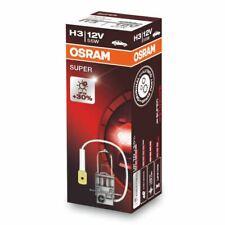 OSRAM H3 12V 55W PK22s SUPER Car Headlight Bulb 30% more light 64151SUP Single